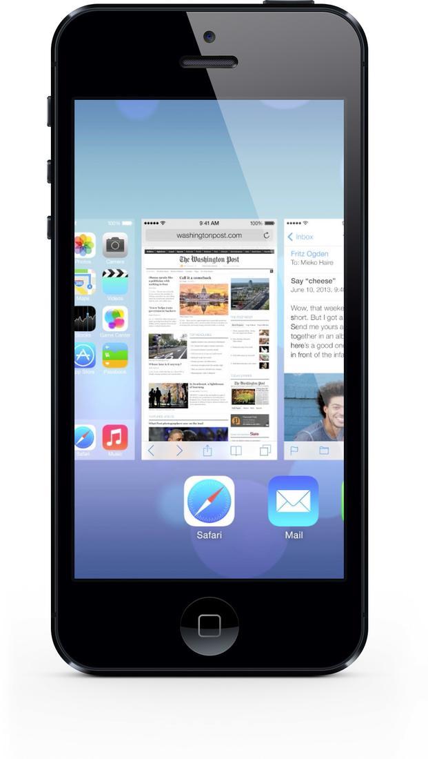 komplett berarbeitet apple pr sentiert ios 7 f r iphone ipad und ipod touch siri wird. Black Bedroom Furniture Sets. Home Design Ideas