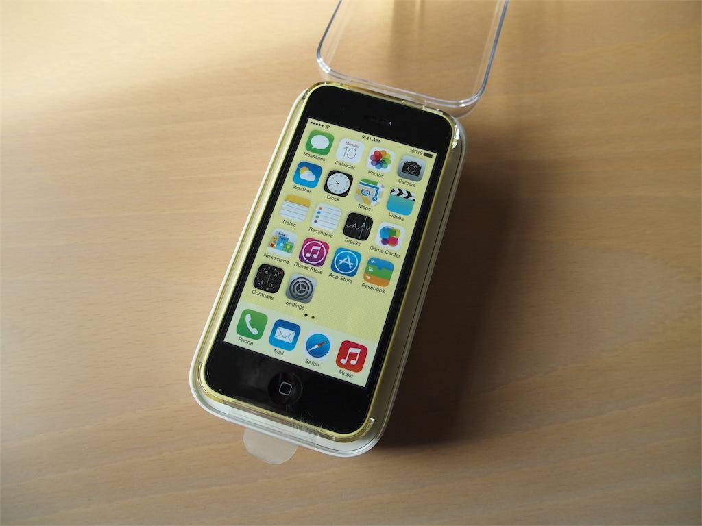 Iphone 5c neu test