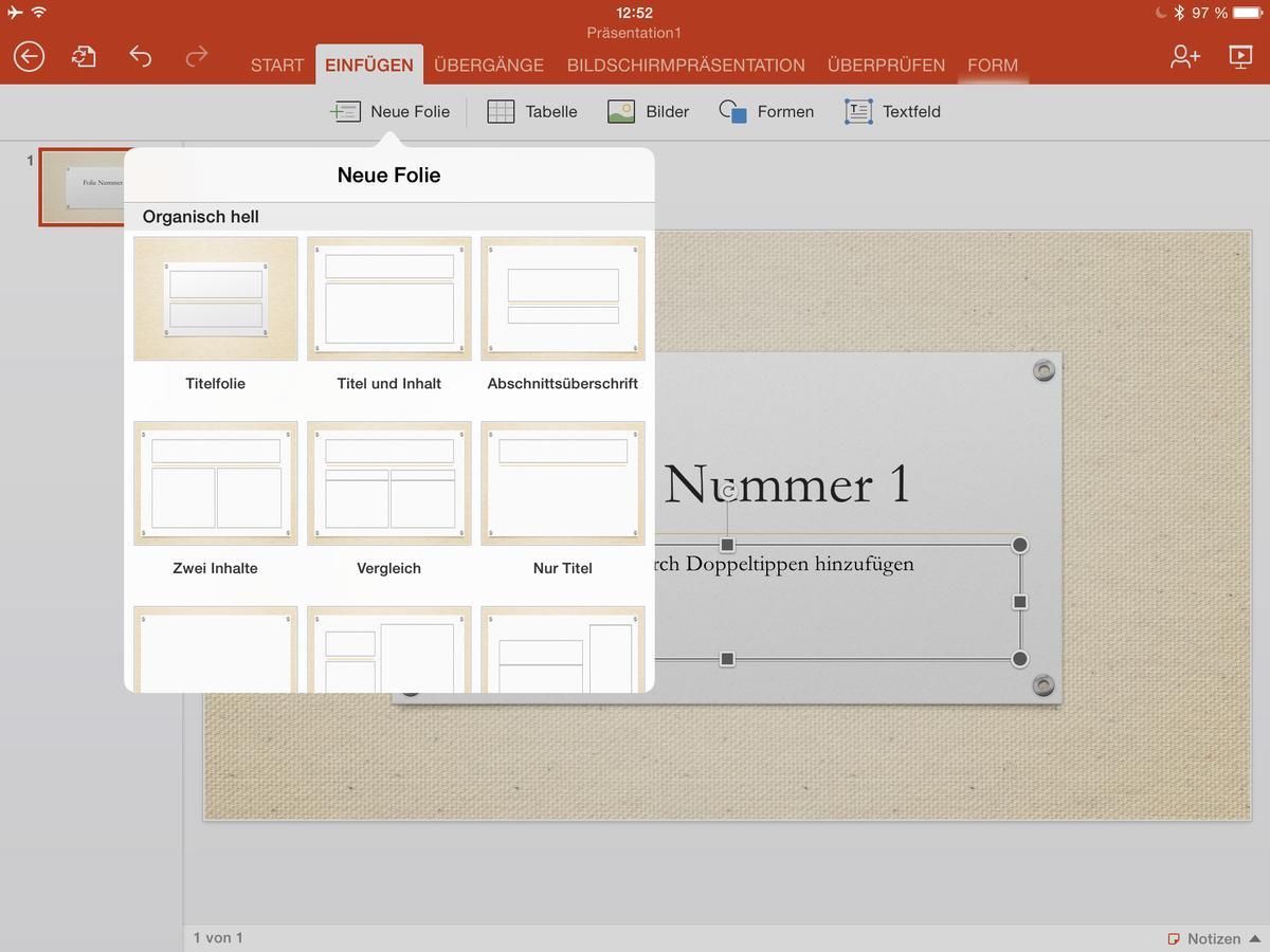 Test: PowerPoint für iPad | Mac Life