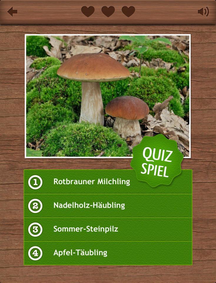 App Pilze Bestimmen