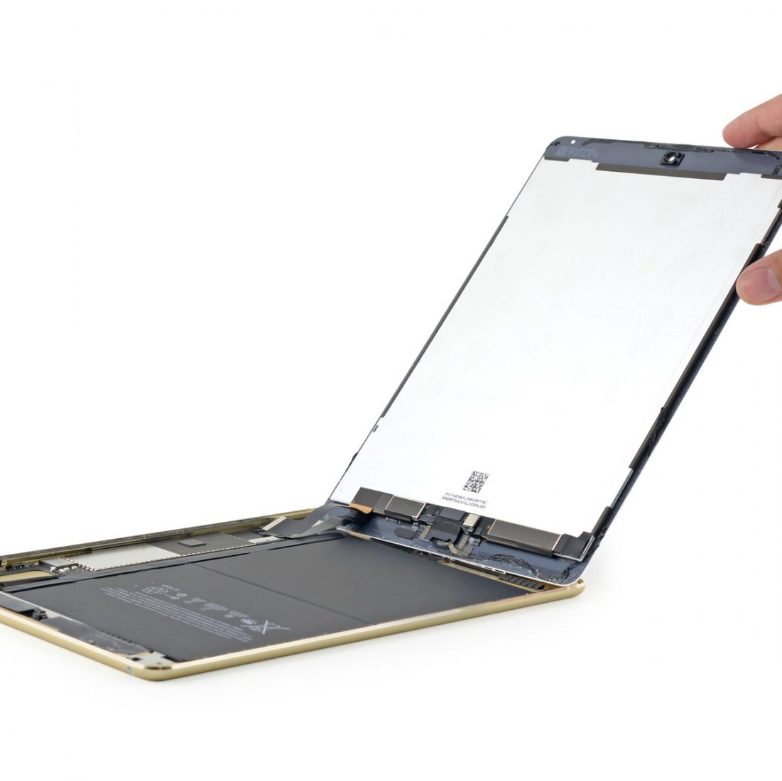 ipad air 2 ifixit findet kleineren akku 2gb. Black Bedroom Furniture Sets. Home Design Ideas