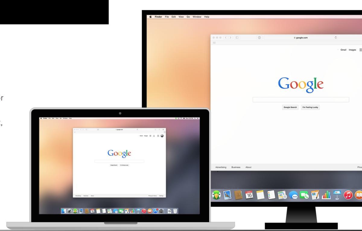 AirParrot 2 spiegelt Mac-Bildschirm auf Chromecast | Mac Life