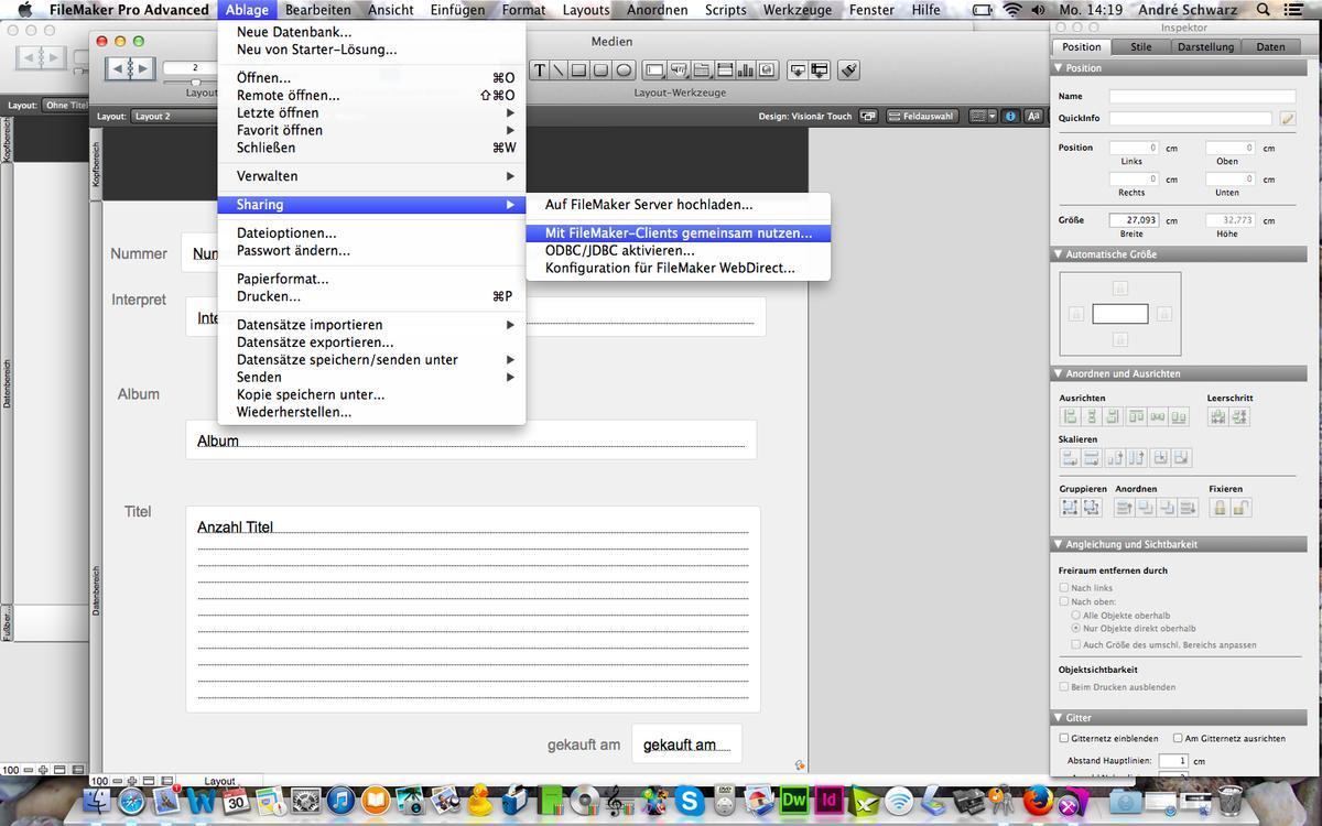 10 Schritte zur eigenen Datenbank: Mit FileMaker iPad ...