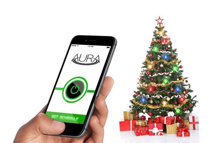 Beleuchtete Christbaumkugeln.Smart Home Aura Beleuchtete Christbaumkugeln Mit App Anbindung