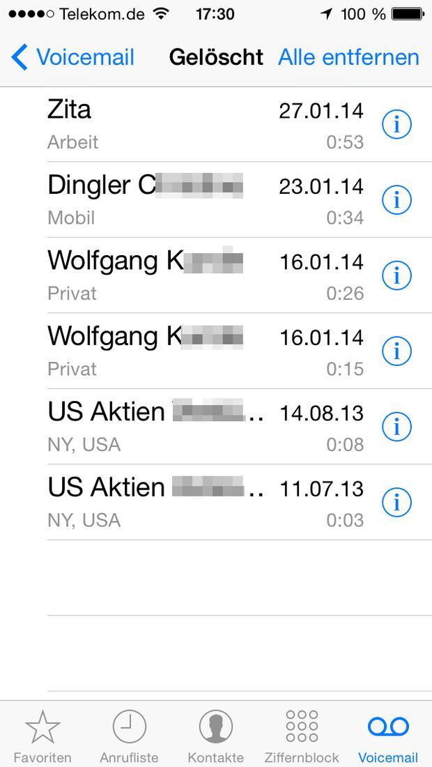 iPhone: Visual Voicemail einrichten und nutzen | Mac Life