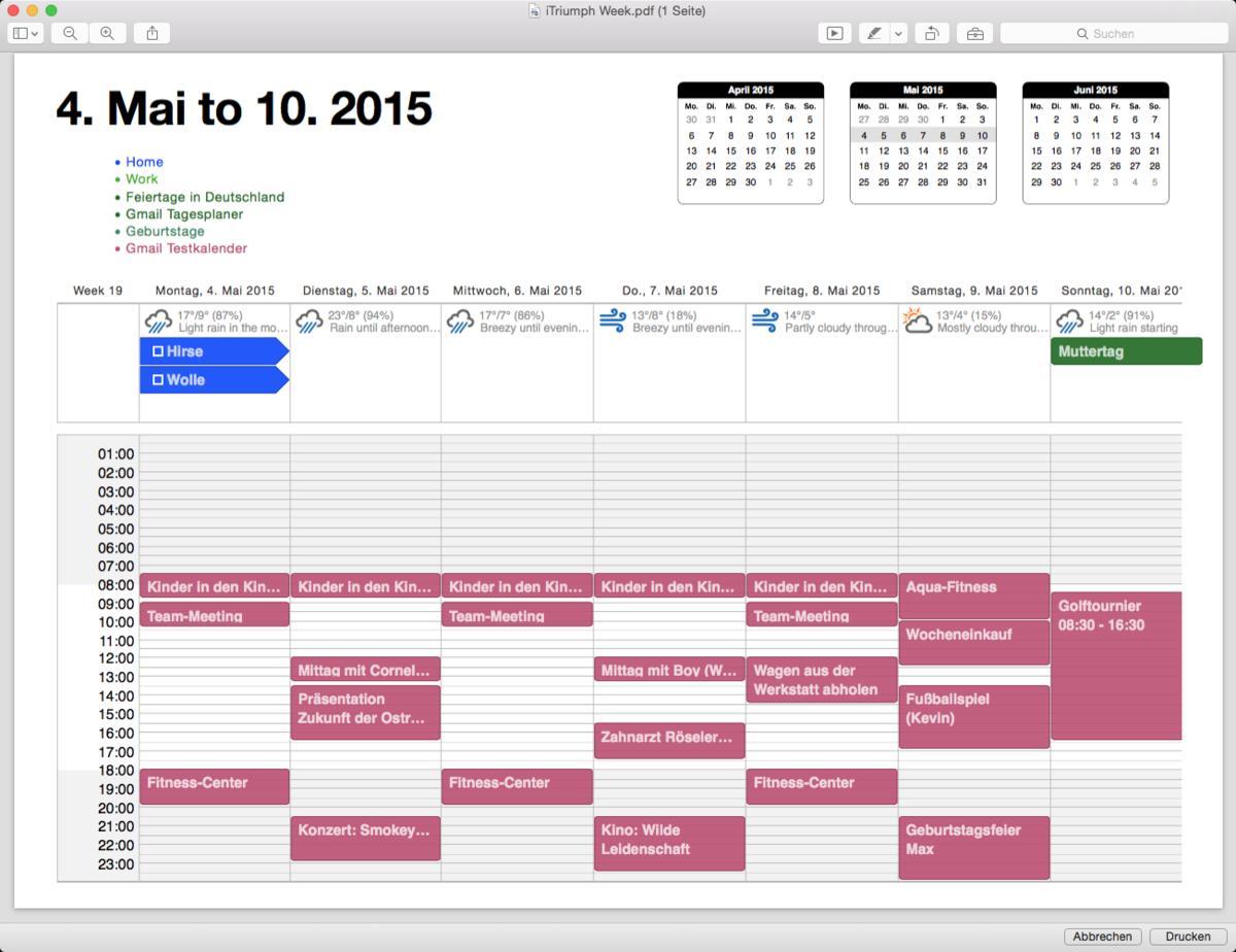 Die besten Kalender-Alternativen für den Mac: Kalender-Tuning und ...