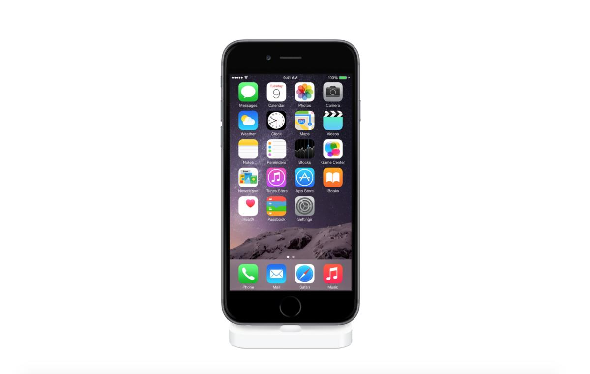iphone 6 apple bringt endlich ein lightning dock ist. Black Bedroom Furniture Sets. Home Design Ideas