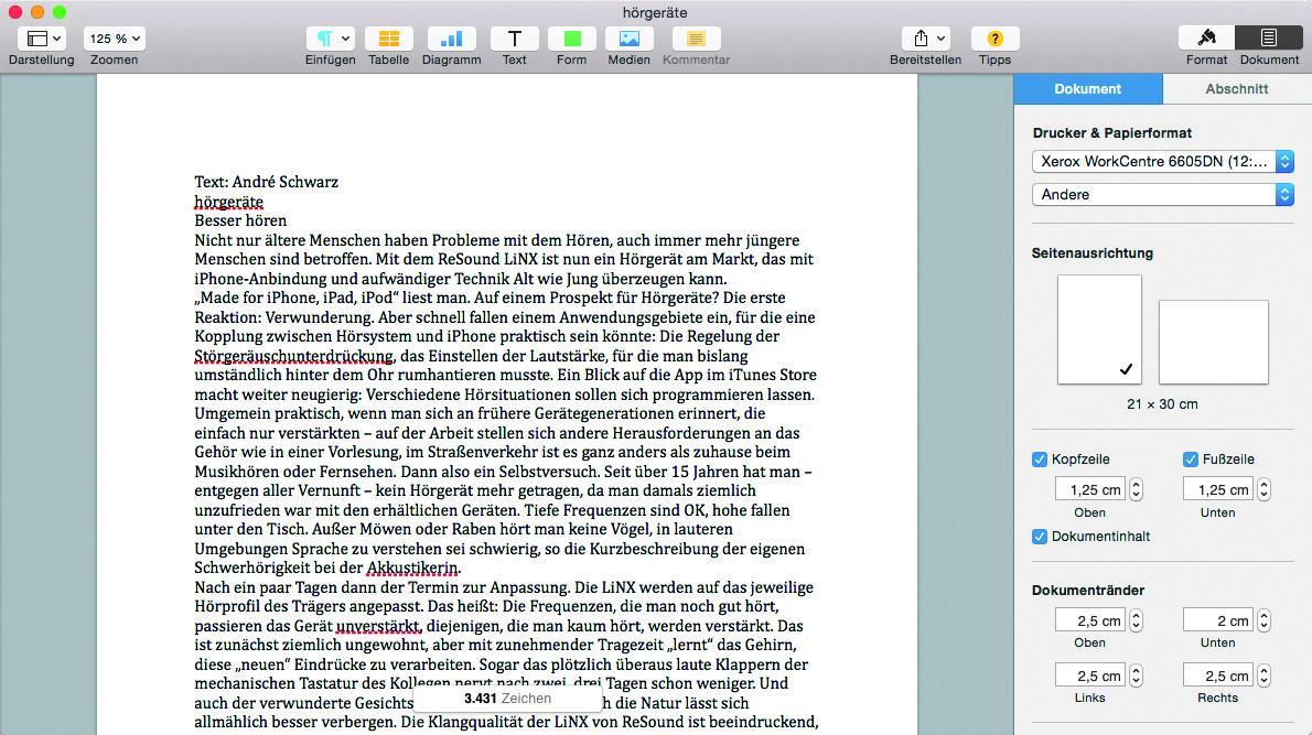 Apple Pages als Alternative zu Microsoft Word Die besten Tipps ...