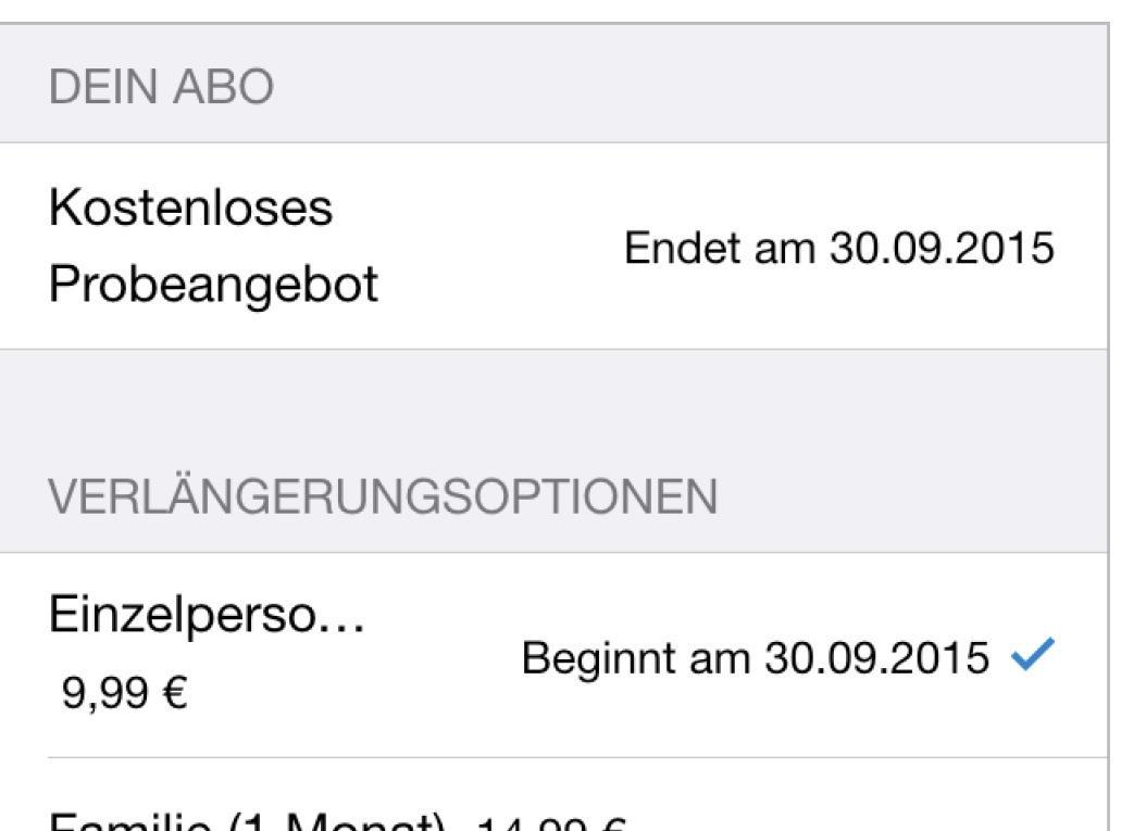 Apple Music: Abo beenden   Mac Life