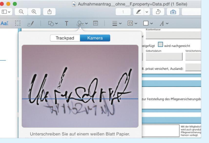 Pdf Unterschreiben Am Mac Unter Os X Mac Life