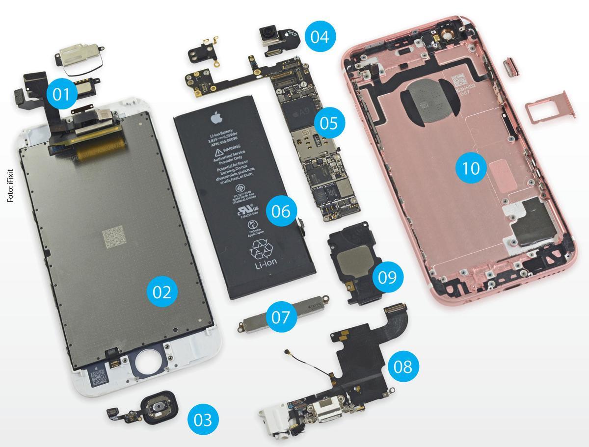 Iphone S Fingerabdrucksensor