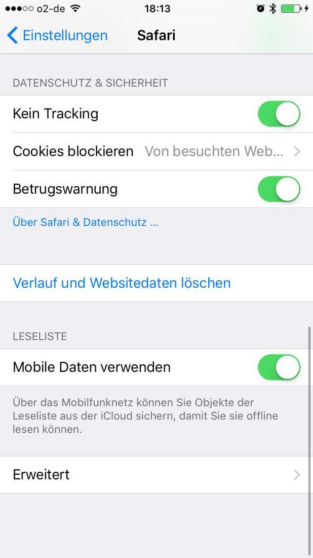 iphone konfiguration neu starten