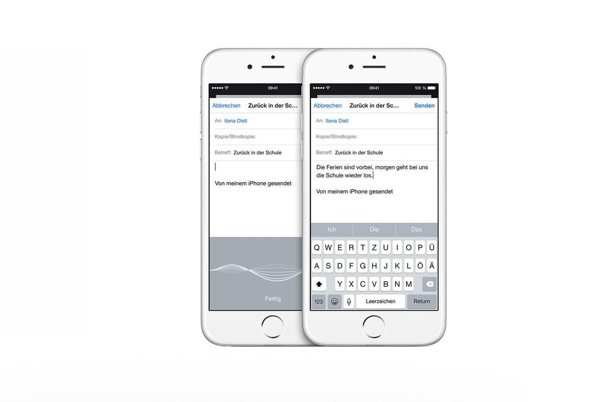 iOS-Tipp Diktieren ohne Internetverbindung unter iOS 9.3