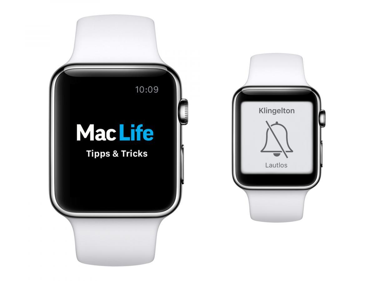 Apple-Watch-Tipp: So stellt man die Apple Watch stumm | Mac Life