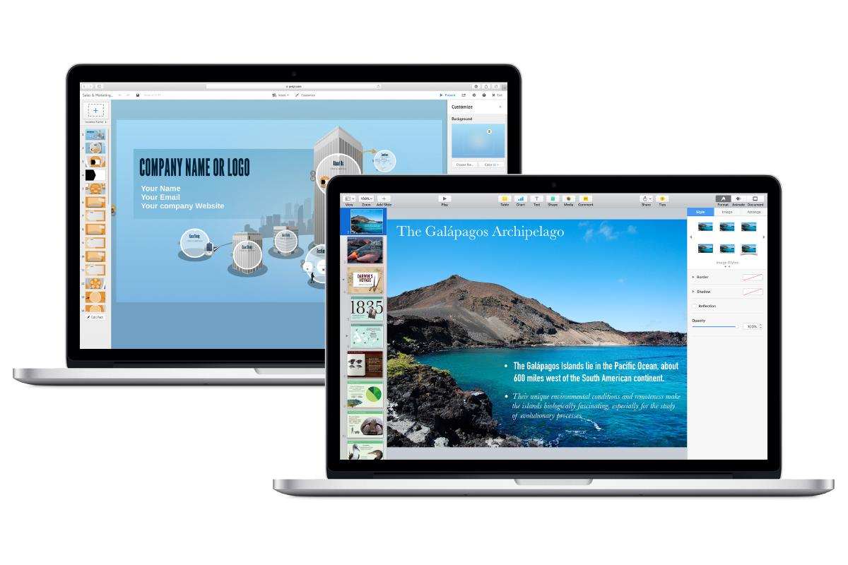 Keynote vs. Prezi: Präsentationsprogramme im Vergleich | Mac Life
