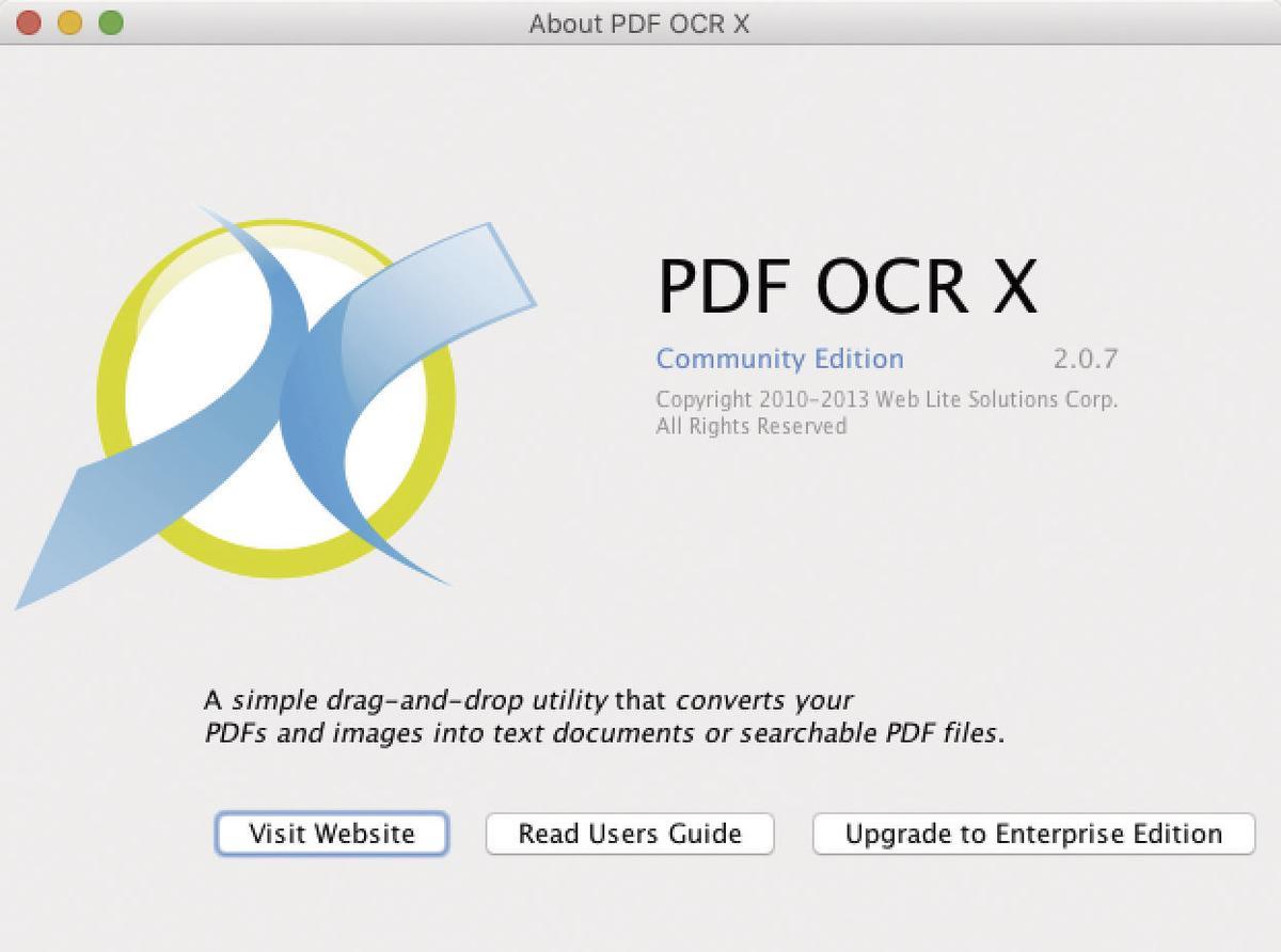 Pdf Ocr X Enterprise Edition