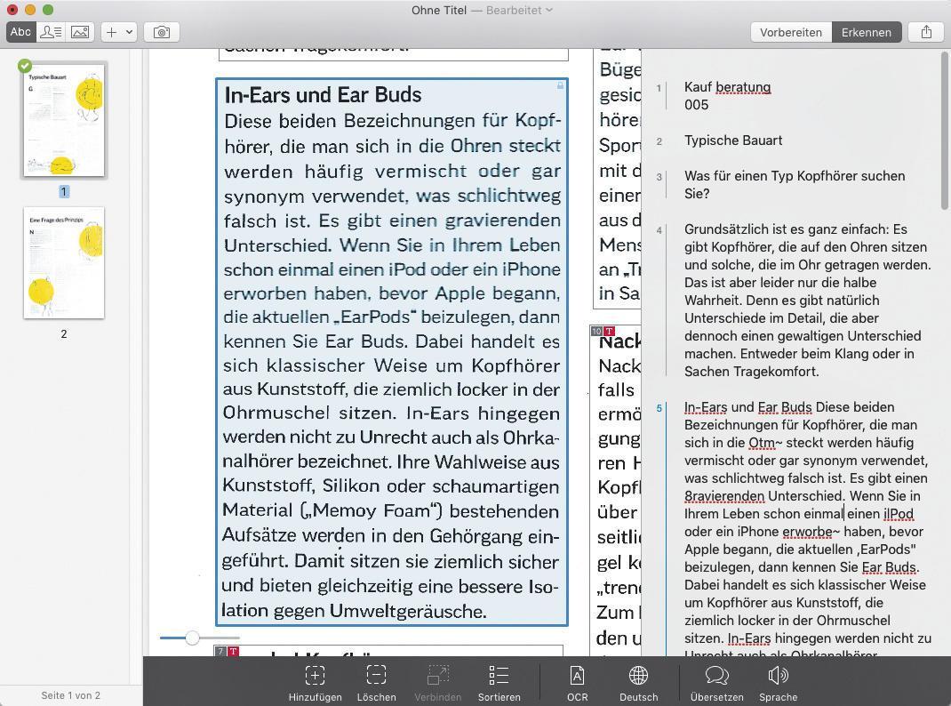 Briefe Und Mehr Vreden : Papierloses büro mit ios und os realisieren mac life