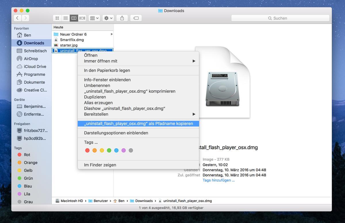 wie man etwas auf einem mac kopiert