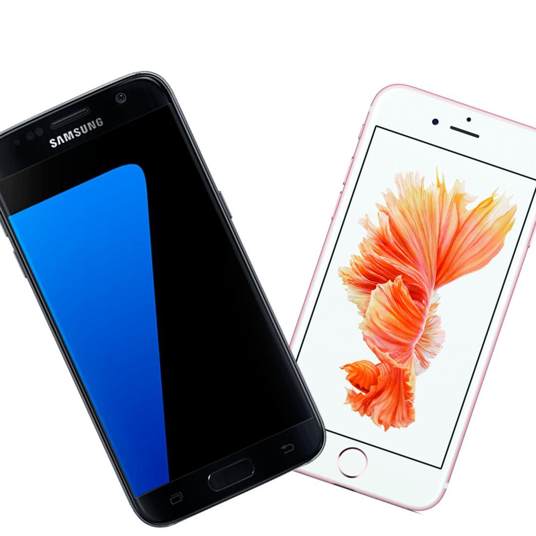 Samsung Galaxy S7 Sd Karte Größe.Iphone 6s Vs Galaxy S7 5 Gute Gründe Für Das Galaxy S7 Mac Life