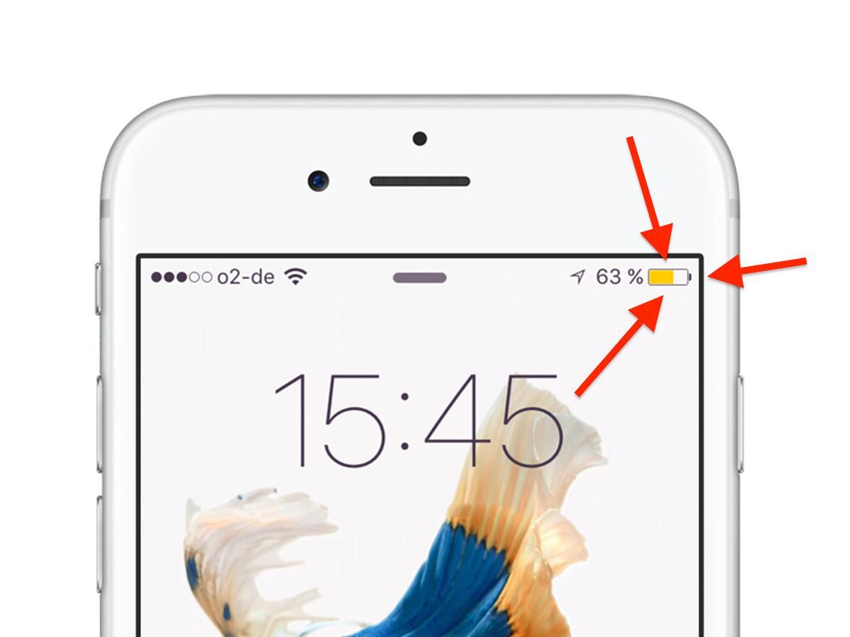 Gelbes Batterie Icon am iPhone: Was ist das?   Mac Life