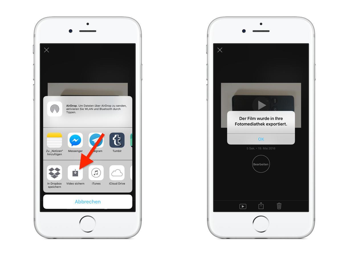 videos drehen am iphone so einfach geht s mac life. Black Bedroom Furniture Sets. Home Design Ideas