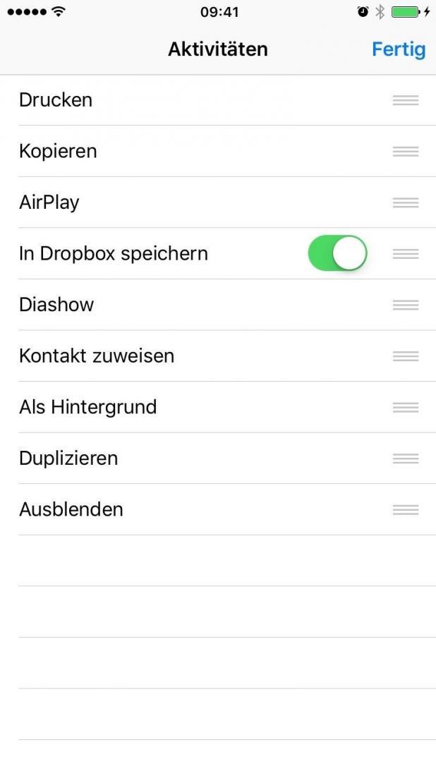dropbox dateien herunterladen iphone
