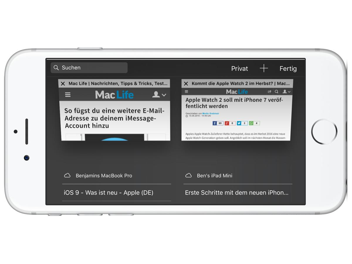 So Schliesst Du Deine Mac Safari Tabs Am IPhone