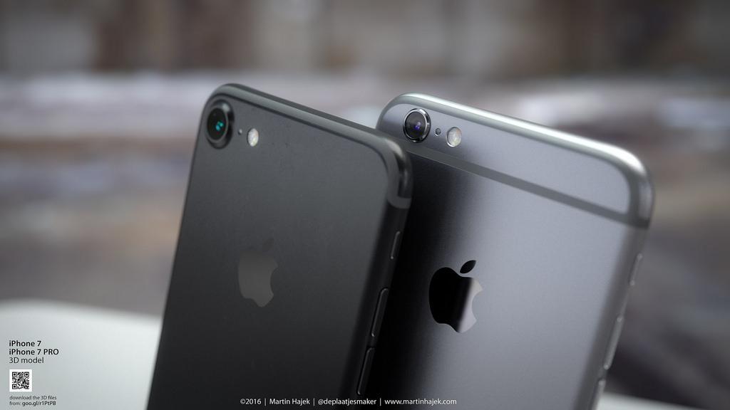 aufkleber best tigen iphone 7 in schwarz matt und gl nzend mac life. Black Bedroom Furniture Sets. Home Design Ideas