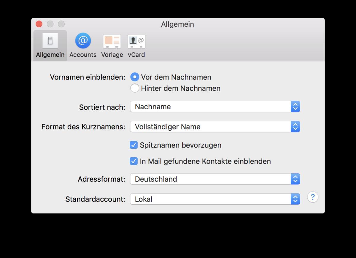 Kontakte Am Mac Sortieren So Einfach Geht S Mac Life