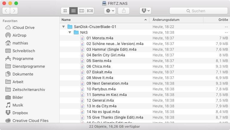 Fritzbox Als Mediaserver Musik Und Filme Im Netzwerk Streamen Mac