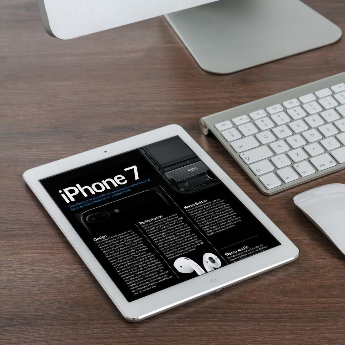 das neue iphone 7 spezial jetzt gratis in unserem pdf. Black Bedroom Furniture Sets. Home Design Ideas
