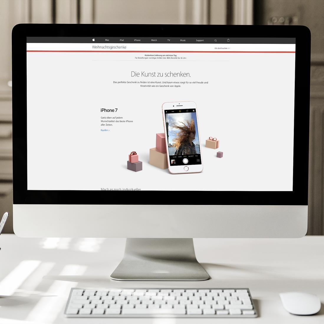 Apple empfiehlt eigene Produkte als Weihnachtsgeschenke | Mac Life