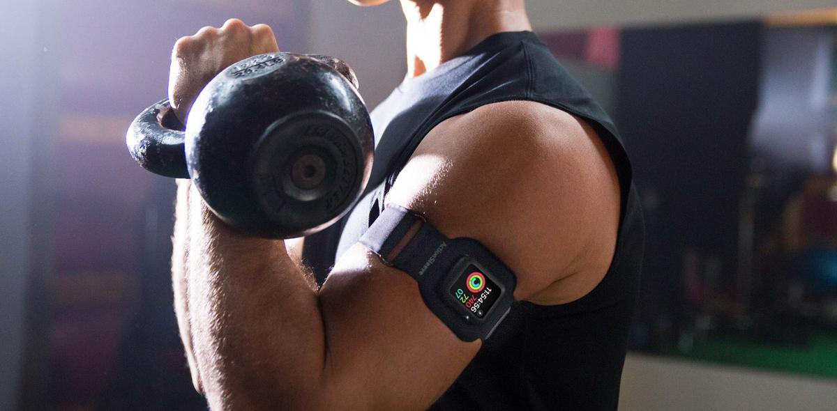TwelveSouth ActionSleeve fixiert Apple Watch am Oberarm | Mac Life