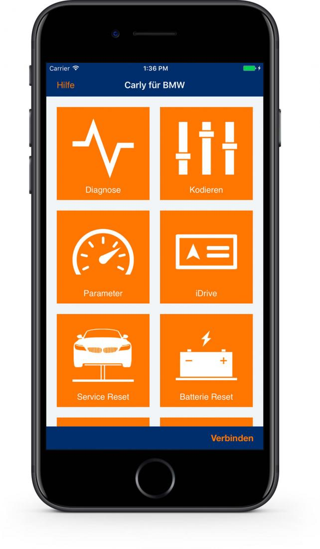 test carly app f r bmw autodiagnose per iphone mac life. Black Bedroom Furniture Sets. Home Design Ideas