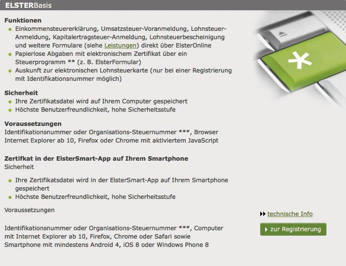 Workshop: Kostenfreie Steuererklärung am Mac mit Elster Online | Mac ...
