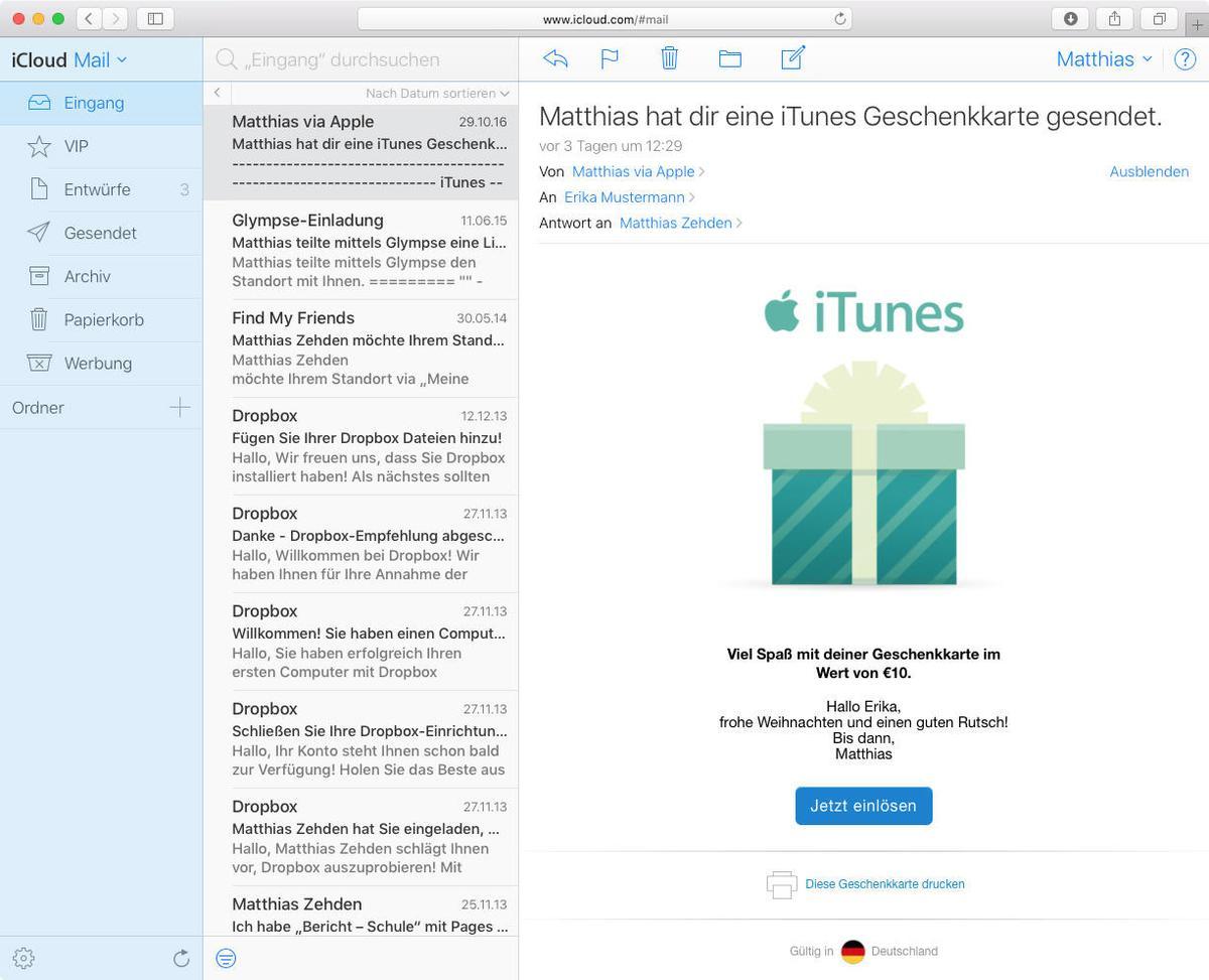 Workshop So Verschenken Sie Musik Apps Und Itunes Guthaben Mac Life