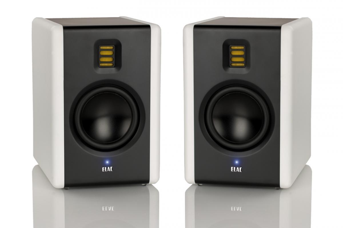 test elac am200 aktiver nahfeld monitor lautsprecher. Black Bedroom Furniture Sets. Home Design Ideas