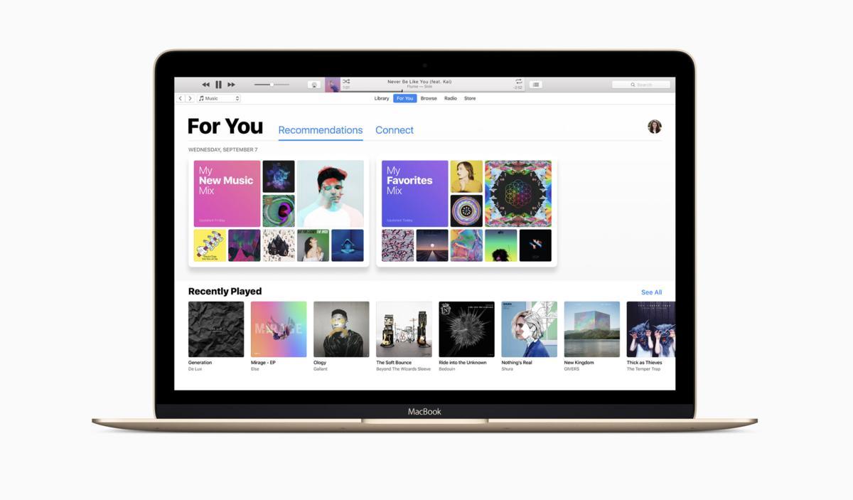 iTunes 12.6: Neuveröffentlichung entfernt mysteriöse Funktion   Mac Life