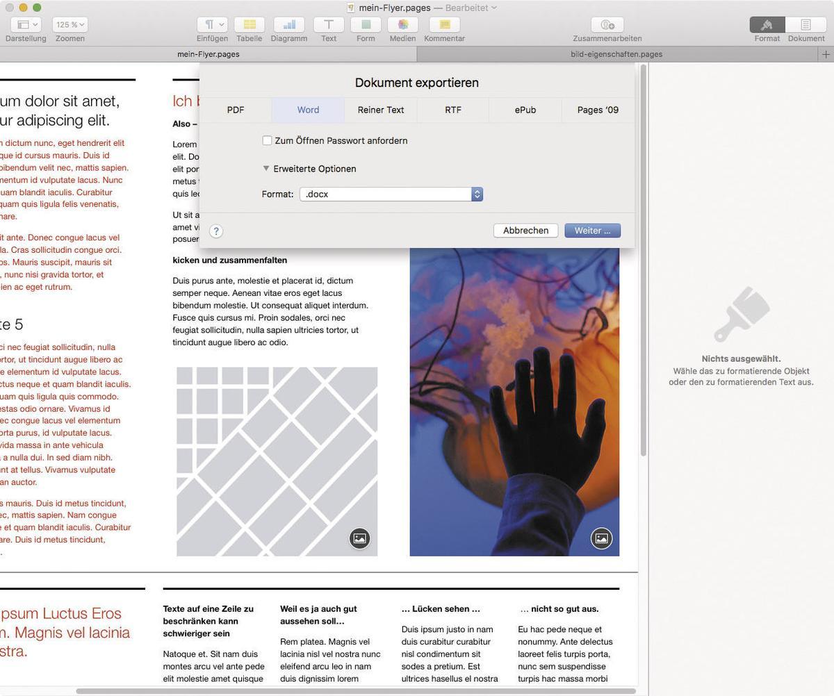 So Zaubern Sie Serienbriefe Mit Pages Am Mac Mac Life