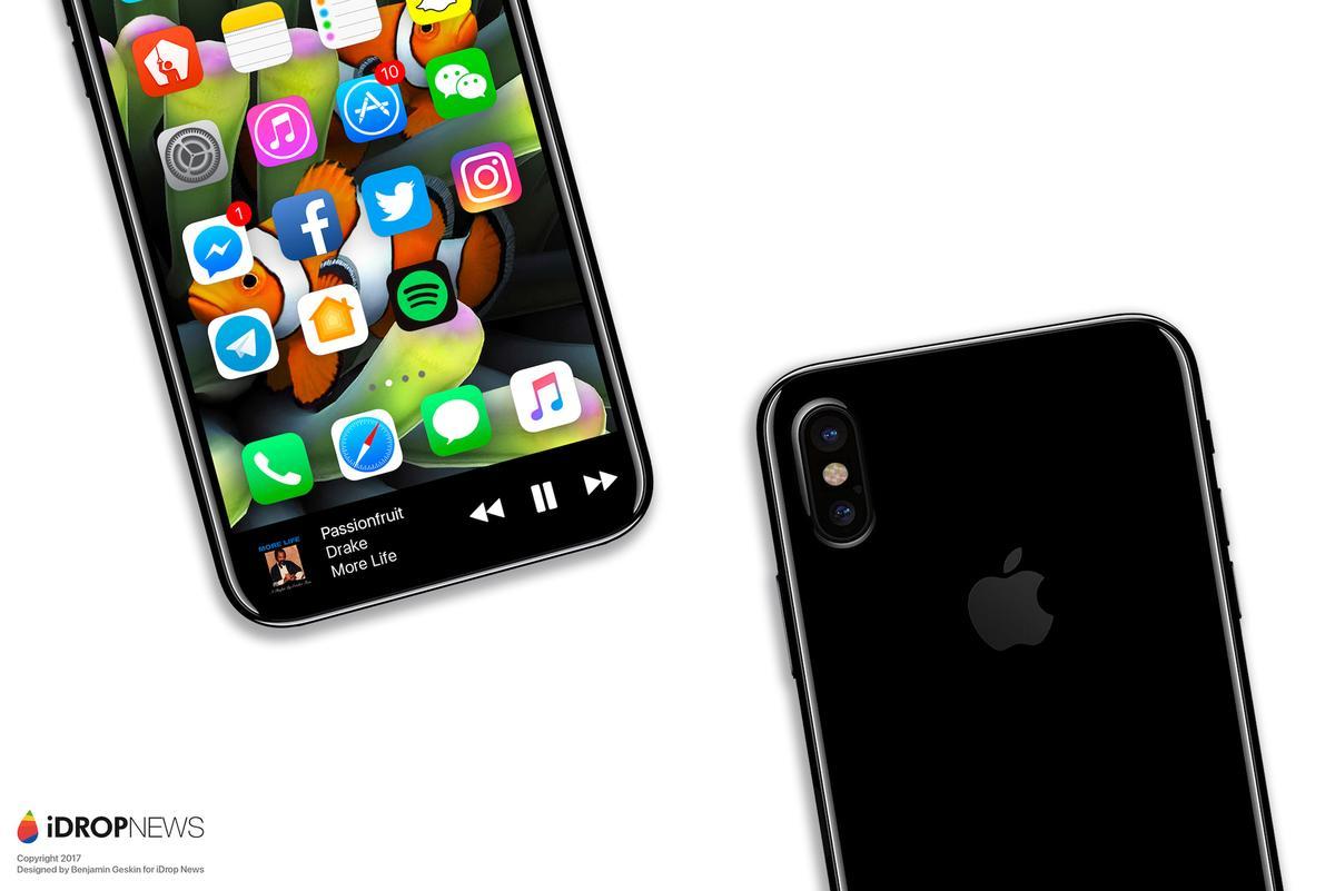 iPhone 8: Videos mit 1080p240fps, besseres HDR & biometrische ...
