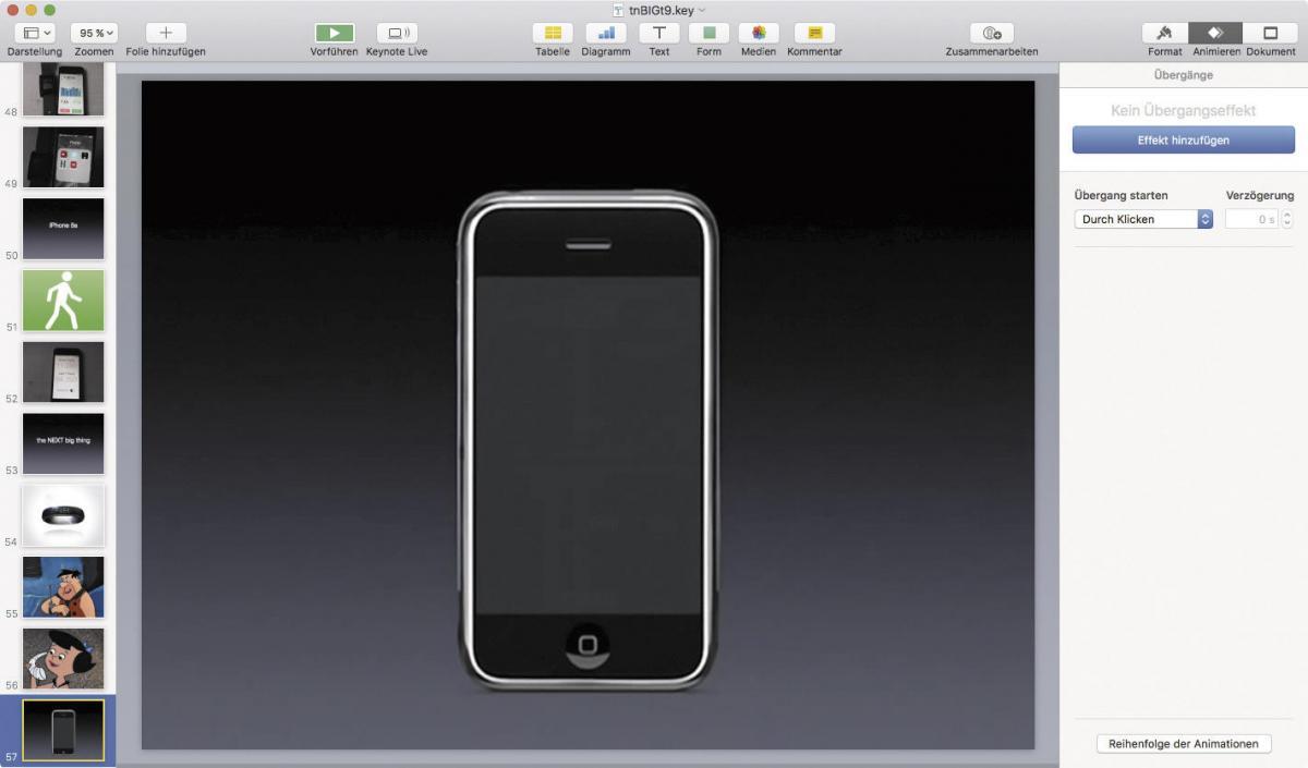 Keynote erklärt: Präsentieren wie einst Steve Jobs - so geht