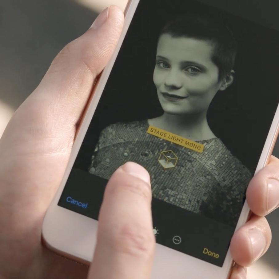 Iphone 8 Plus Werbung Bewirbt Beta Funktion Portrait