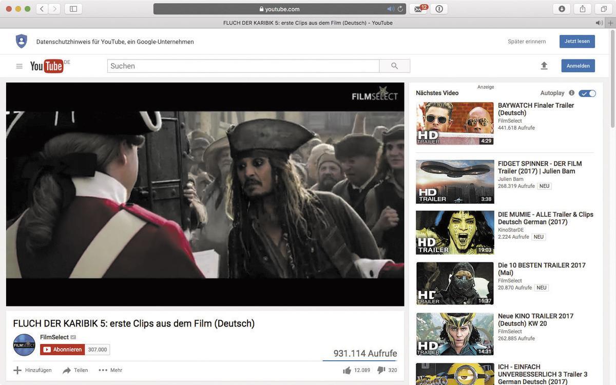 video stream aufnehmen mac os x