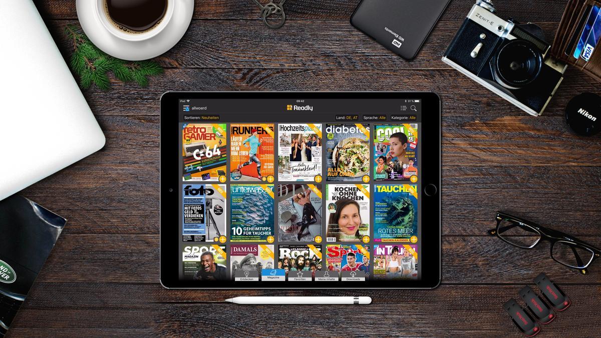 readly app zeitschriften entspannt auf iphone und ipad lesen mac life. Black Bedroom Furniture Sets. Home Design Ideas