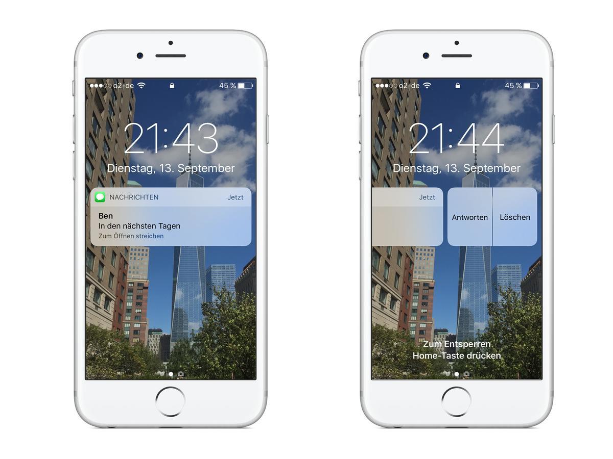 bt benachrichtigung app iphone kostenlos