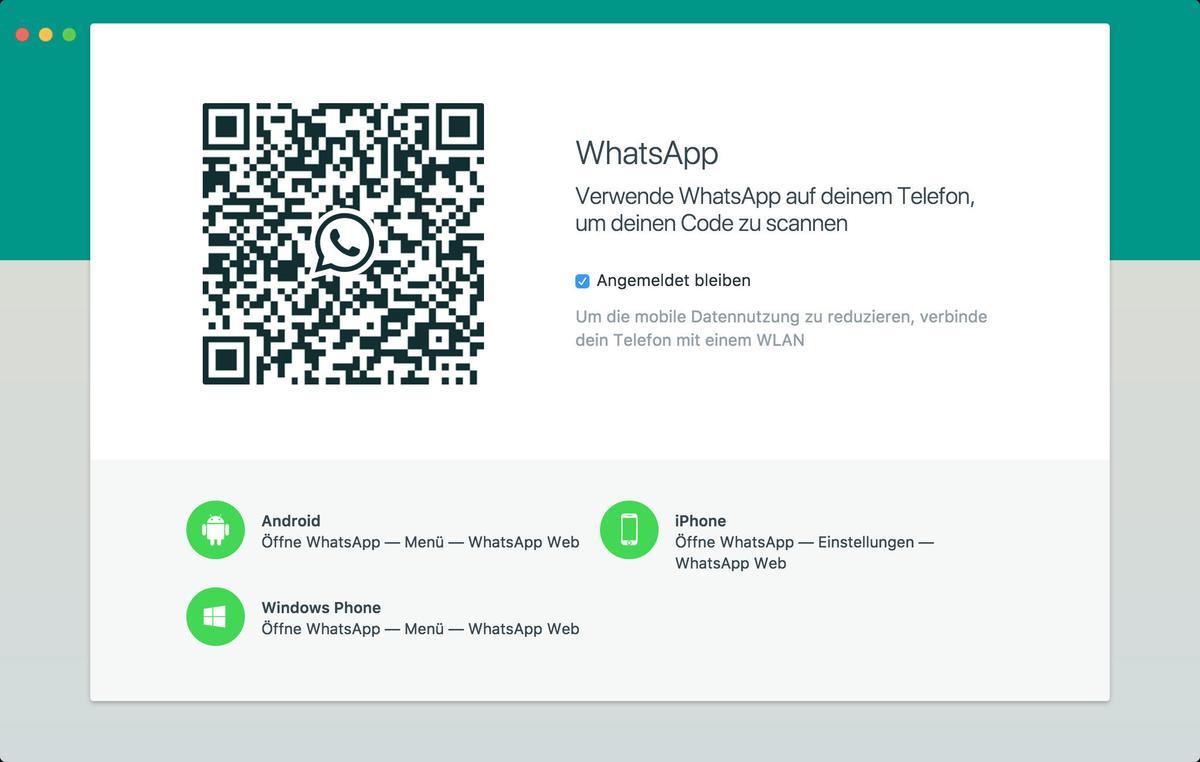 whatsapp am mac lesen