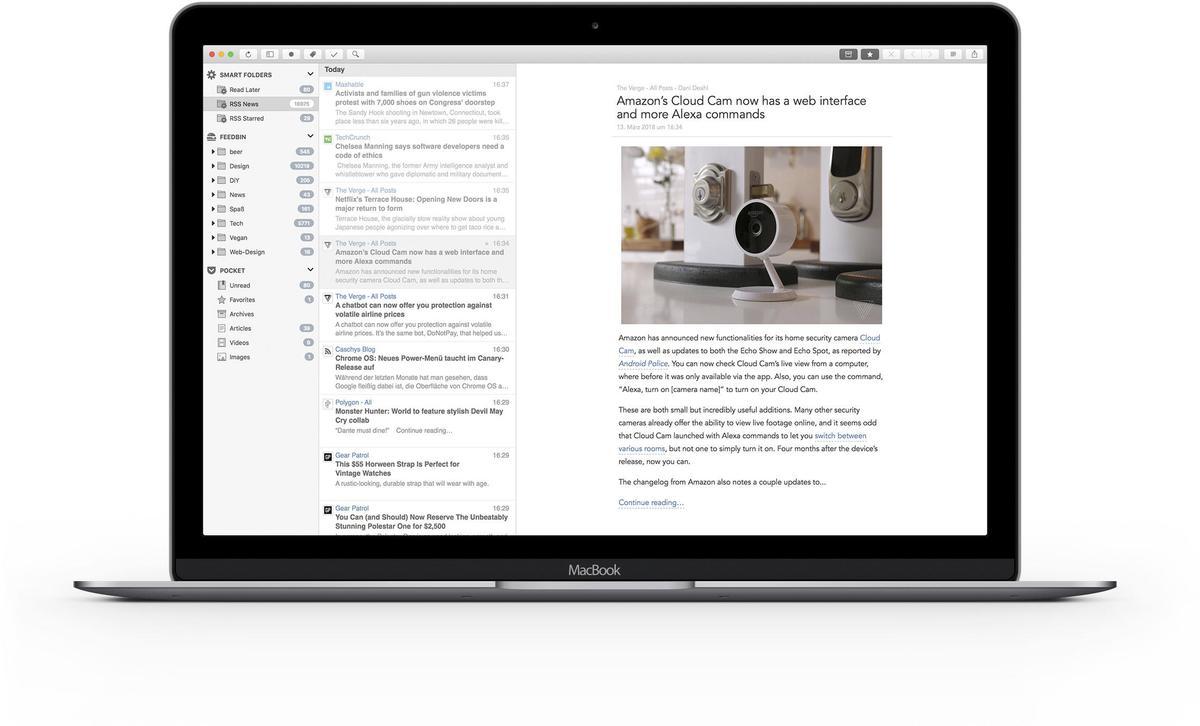 Nachrichten Im Gratisabo Die Besten Newsreader Für Mac Ipad Und