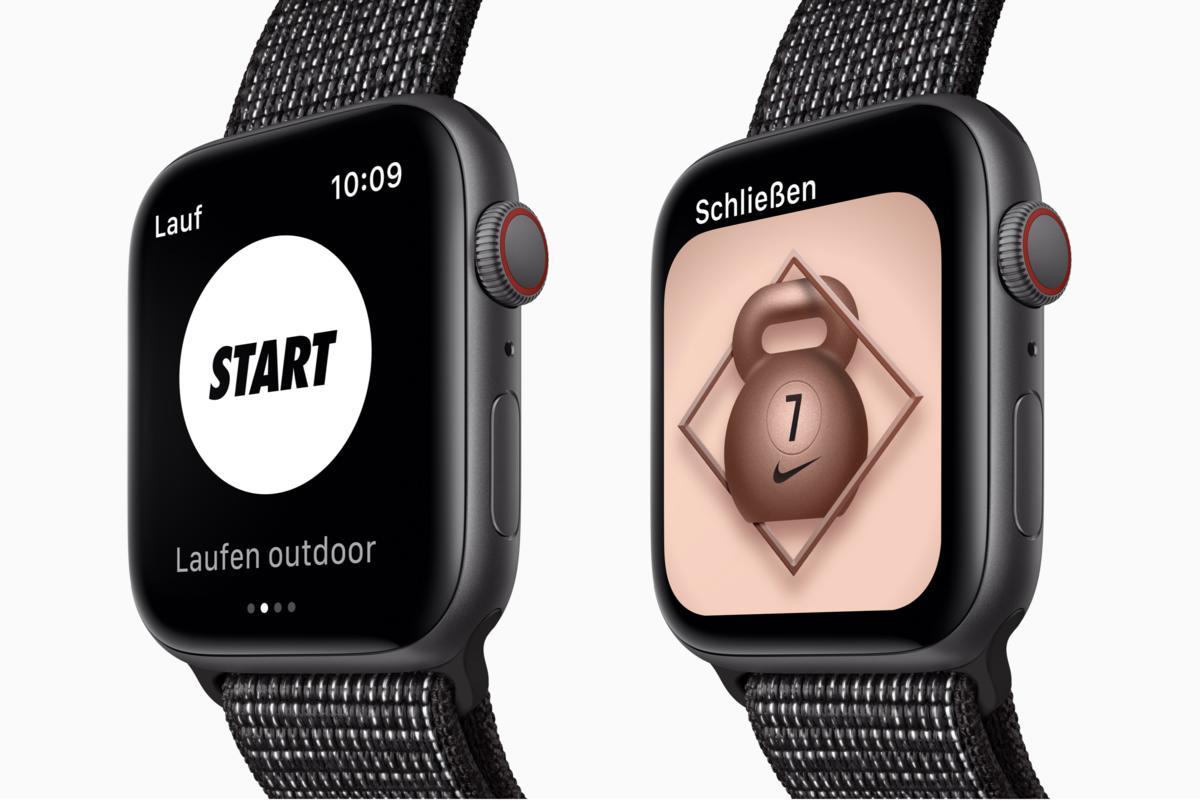 release date: 4ce7e fa99f Apple Watch Series 4 Nike+ im Test Die Stärken und Schwächen