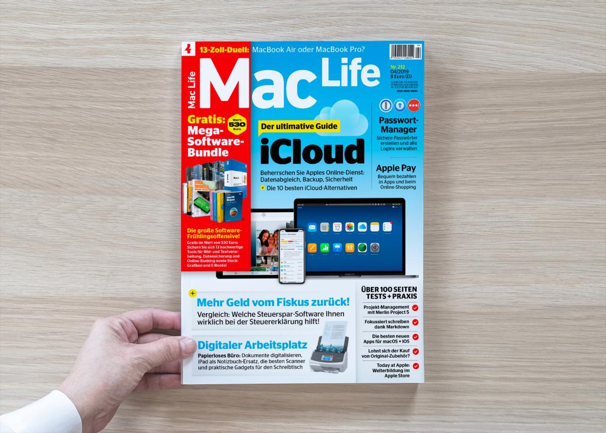 Die Neue Mac Life Ist Da Mit Mega Software Bundle Mac Life