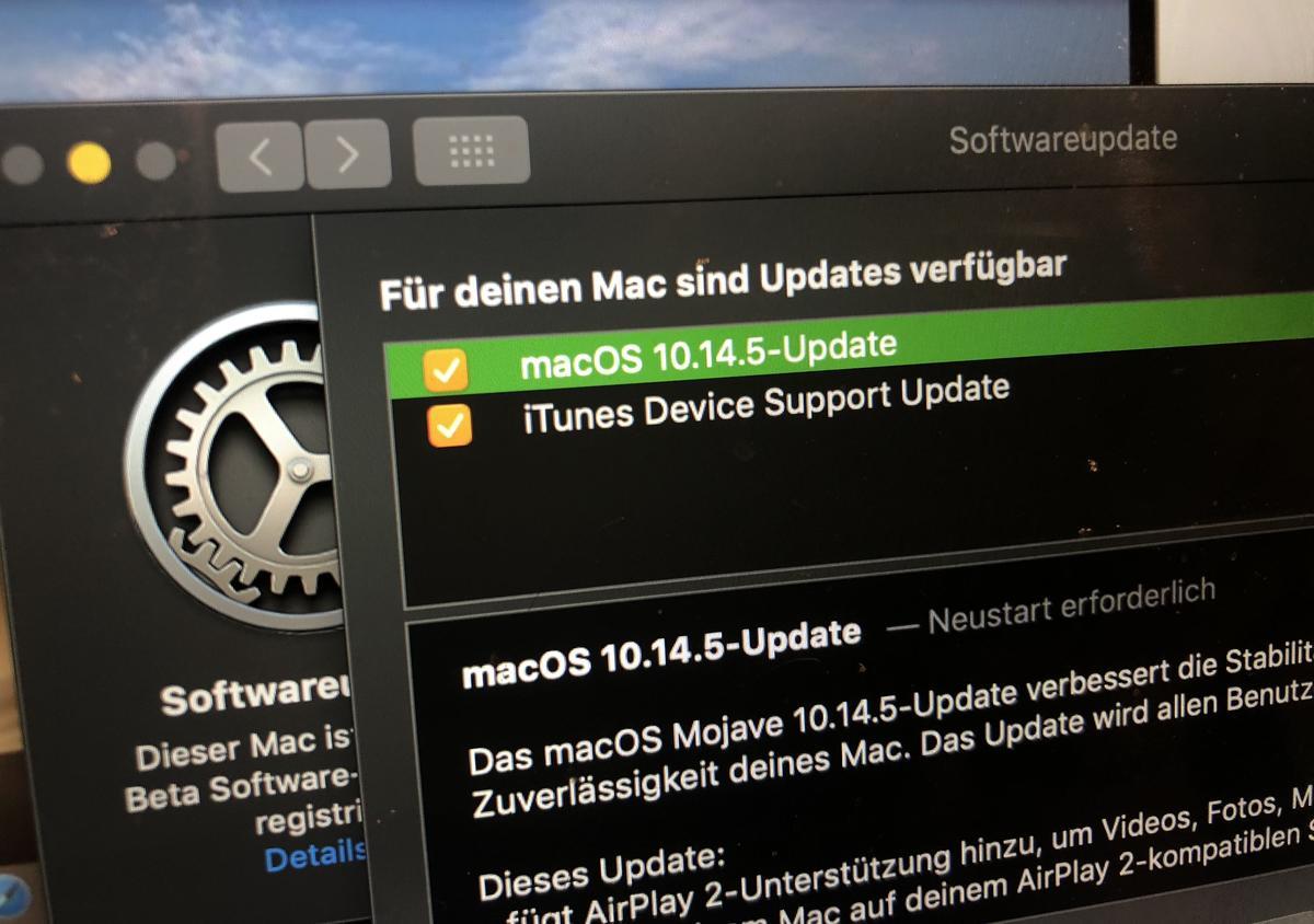 Apple bringt macOS Mojave 10 14 5   Mac Life